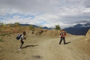 Eight day trekking from Baoshan stone city to Lugu lake